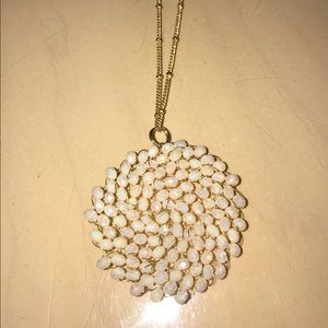 Jewelry - NEW Long Necklace with Beaded Pendant